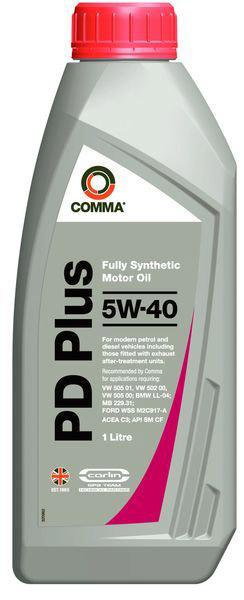 COMMA PD PLUS 5W40  1л