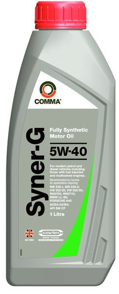 COMMA SYNER-G 5W40 1л