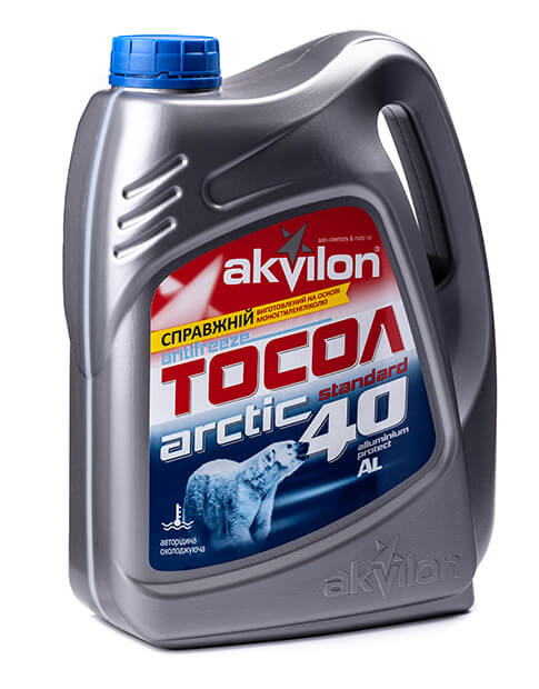 AKVILON Тосол - Аквілон ( АРКТИКА) 0,9кг