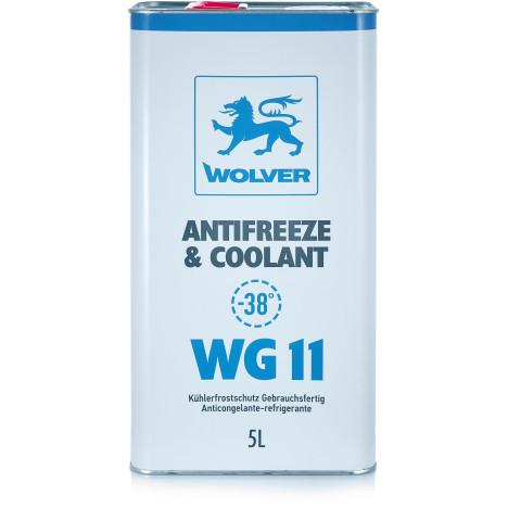 WOLVER Антифриз WG11(синій) ж/б 5л