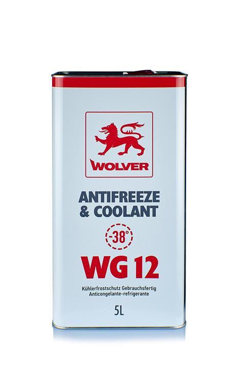 WOLVER Антифриз WG12 (червоний) ж/б 5л