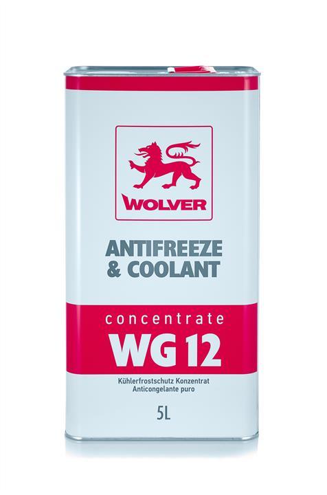 WOLVER КОНЦЕНТРАТ Antifreeze WG12 (червоний) ж/б 5л
