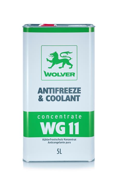 WOLVER КОНЦЕНТРАТ  Antifreeze WG11 (зелений) ж/б 5 л
