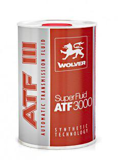 WOLVER Super Fluid  ATF 3000 (III) 1л