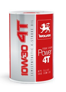 WOLVER Four Stroke Power  4T 10W 30 1л.