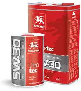 WOLVER Ultratec  5W30 4л