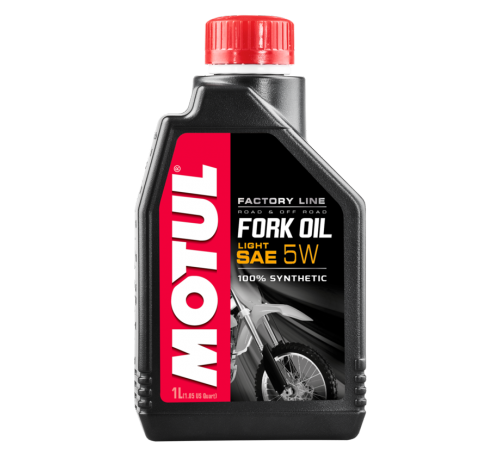 MOTUL  FORK OIL LIGHT FACTORY LINE SAE 5W(1L)/ 101130=105924