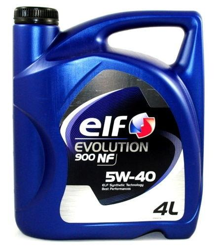 ELF EVOLUTION 900  NF 5W40 4л
