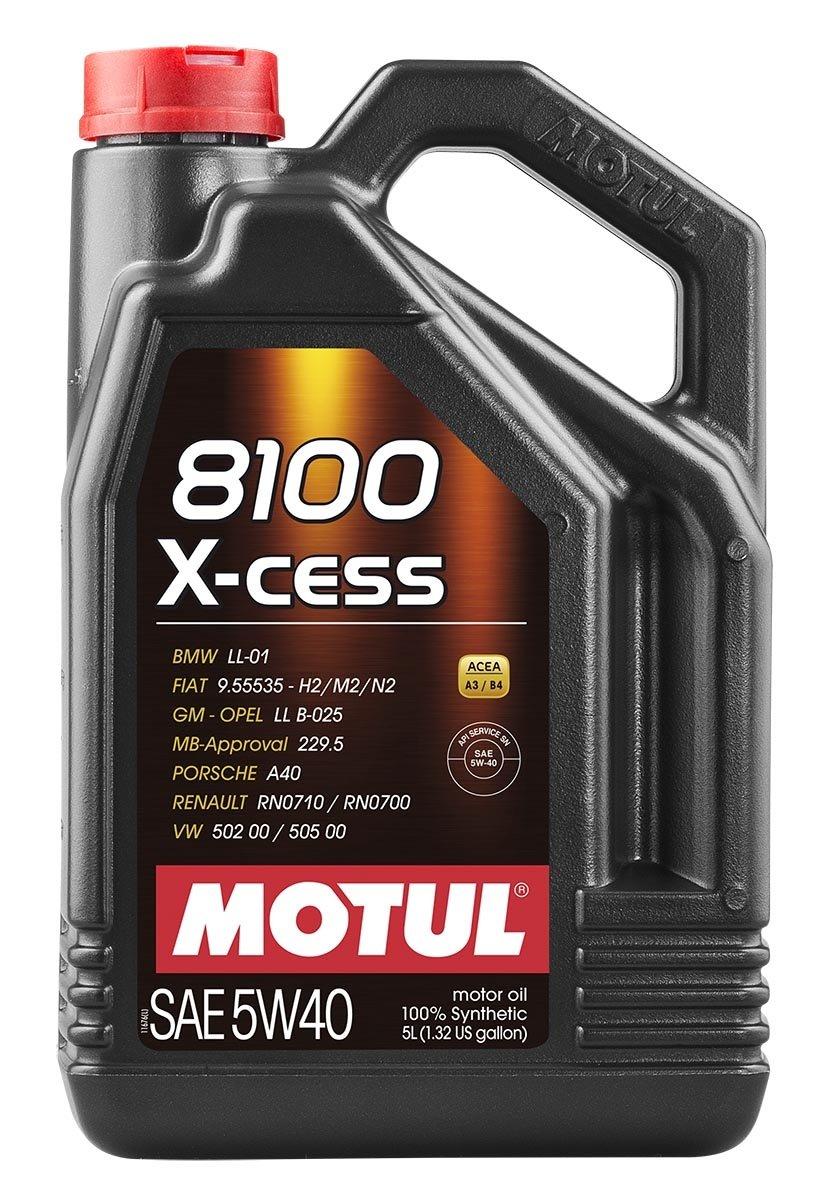 MOTUL  8100 X-cess 5W40 4л./GEN 2