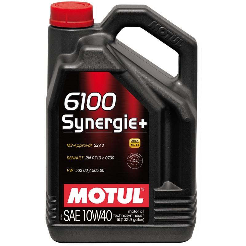 839451 MOTUL  6100 Synergie+ 10W40 5л.