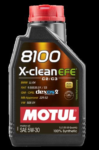 MOTUL  8100 X-clean EFE 5W30 1л.