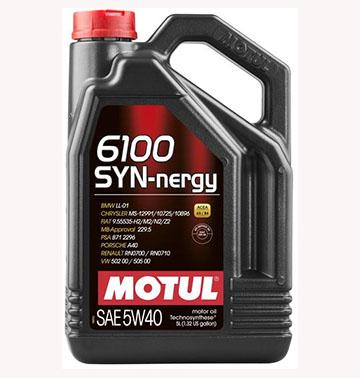 MOTUL  6100 Syn-nergy 5W40 5л./107979