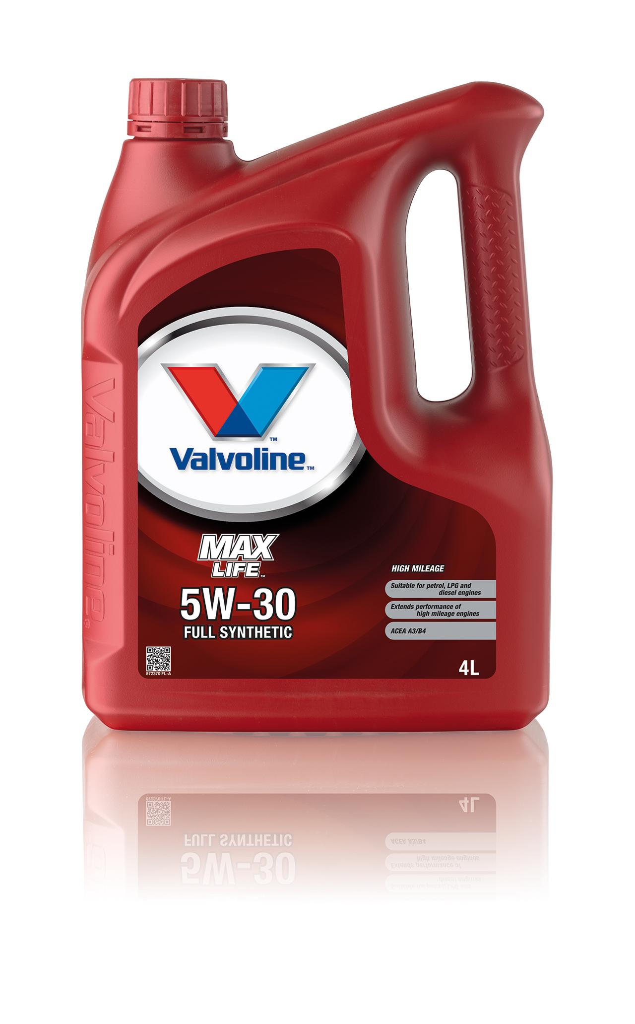 Олива моторна VALVOLINE MAXLIFE C3   5W30 4л. / 872368