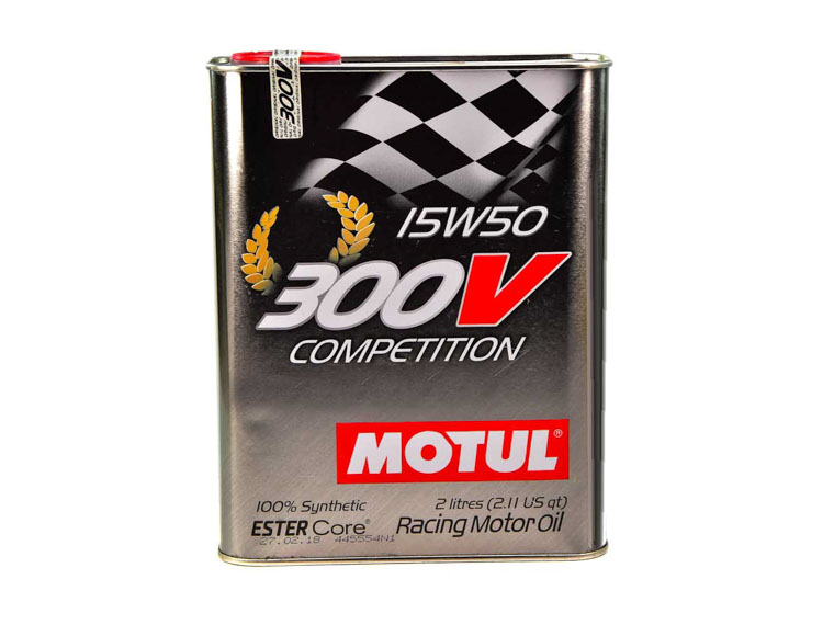 MOTUL  300v COMPETITION SAE 15w50 2л / 825702