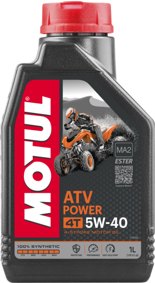 MOTUL  4T ATV POWER 5W40 1л.
