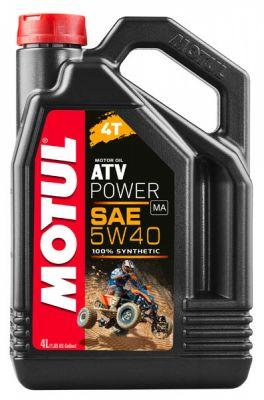 MOTUL  4T ATV POWER 5W40 4л.
