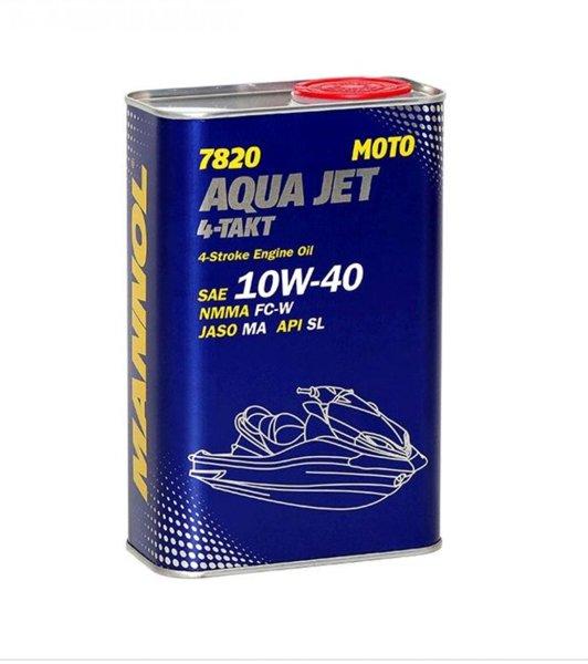 MANNOL 7820 Aqua Jet 4-Takt 10W40 SL 1л.
