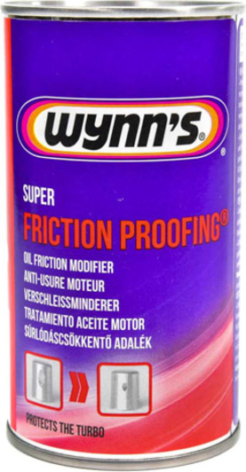 "WYNN""S W 66963 Присадка SUPER FRICTION PROOFING 325 мл."
