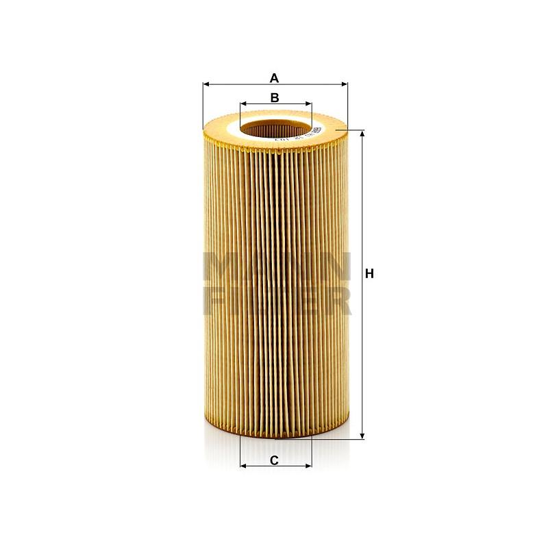 MANN Фільтр масляний HU 12103х