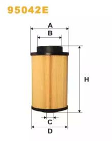 WIX Фільтр паливний 95042Е