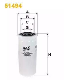 WIX Фільтр масляний 51494