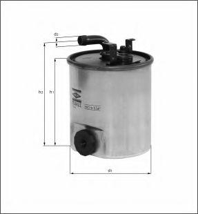 KNECHT Фільтр паливний KL 195