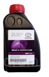 "0882380005 Toyota ""Brake & Clutch Fluid"" 0.5л. Рідина гальмівна DOT5.1"