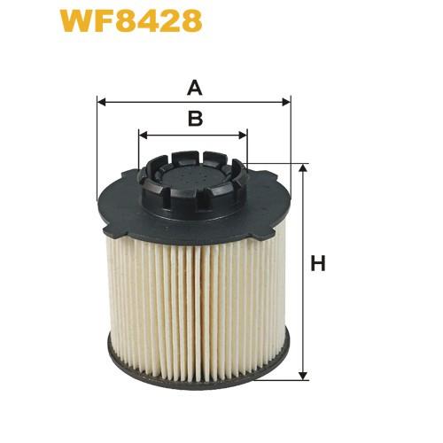 WIX Фільтр паливний WF 8428