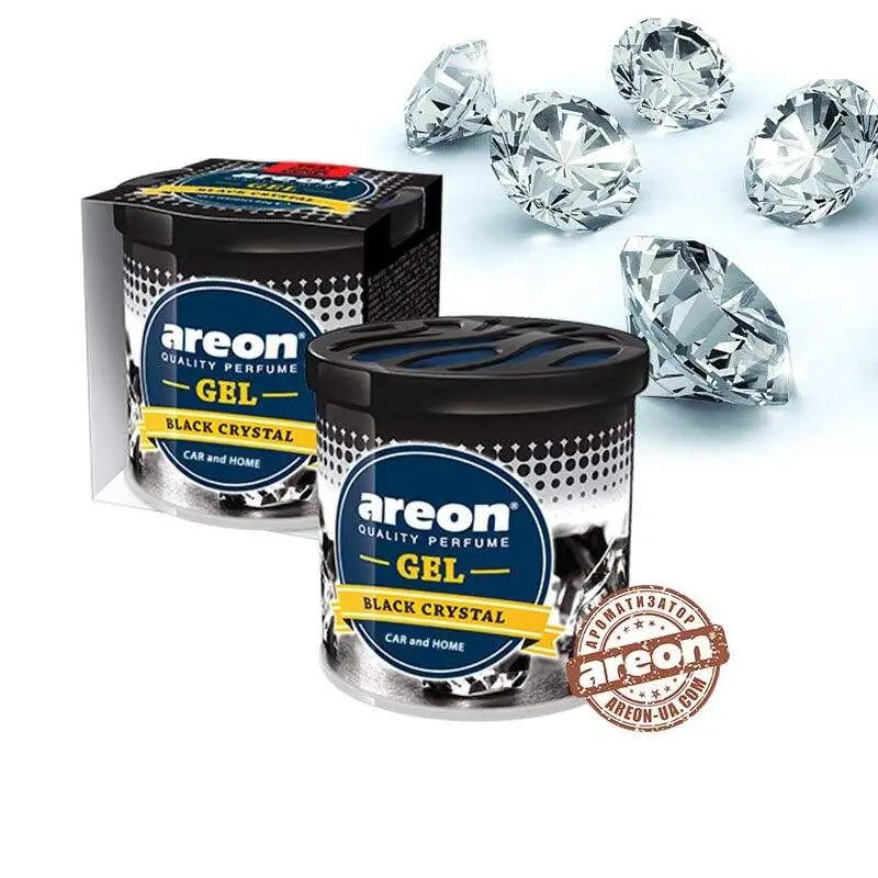 AREON Гель консерва  Чорний кристал