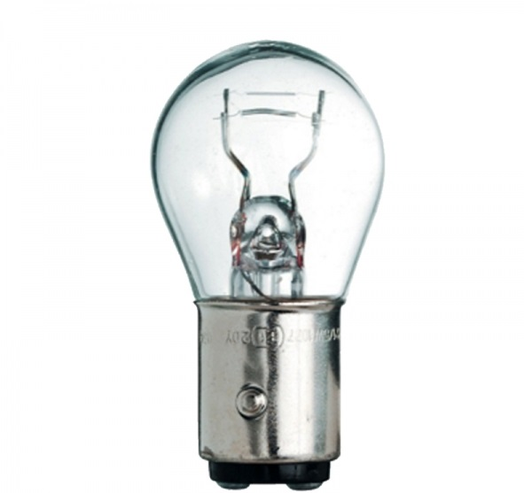 GE 1122 Лампа накаливания 12V P21/4W 21/4W (2 шт./блистер) Standart 12V