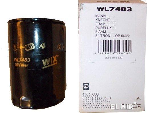 WIX Фільтр масляний WL 7483