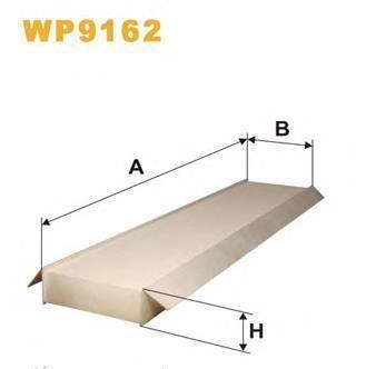 WIX Фільтр салону WP 9162