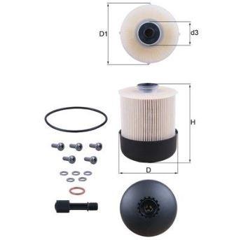 KNECHT Фільтр паливний KX 338/28D