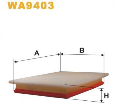 WIX Фільтр повітряний WA 9403