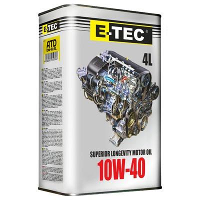 E-TEC  ASM 10W40  кан. п.е. 4л.
