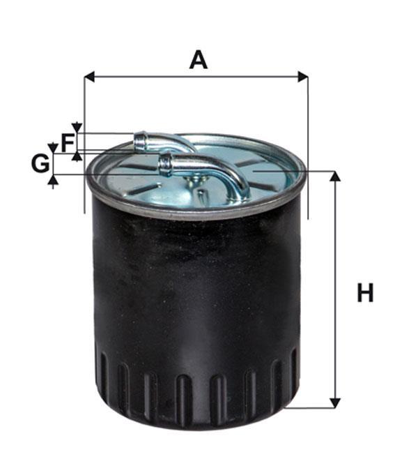 WIX Фільтр паливний WF 8509