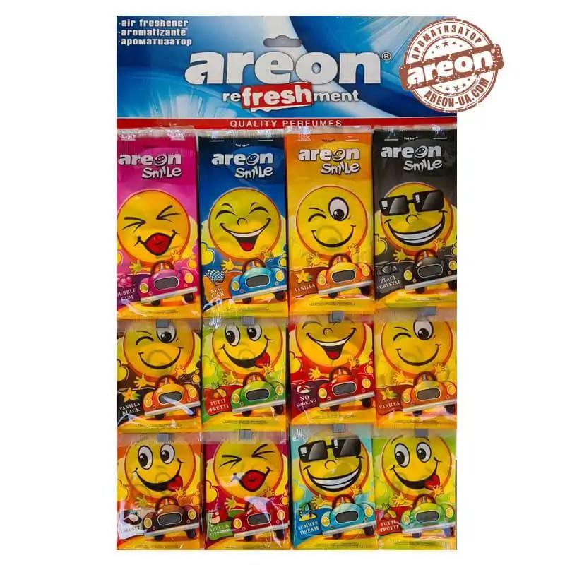 AREON Сухі-Смайл (на листі ) 60 шт планшетка