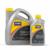 YUKO Synthetic 5W40 1л