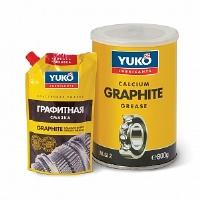 YUKO Графітне мастило  (дой пак зі  штуцером) 375г