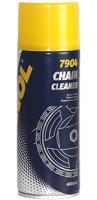 MANNOL 7904 Chain Cleaner/Засіб для очищення ланцюгів мототехніки 0,4л.