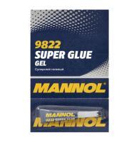 MANNOL 9822 Gel Super Glue/ Секундний гелевий клей 3г.