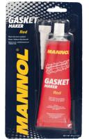 MANNOL 9914 Silicone-Gasket rot / Червоний силік. високотемпературний герметик 85г.