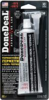 DD6712  термостійкий чорний силіконовий герметик