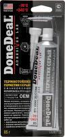 """DD6733 """"ОЄМ""""термостійкий герметик сірий 85г"""