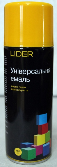 LIDER Фарба 1023 жовта 400 мл