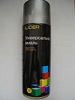 LIDER Фарба 9006 срібляста 400 мл