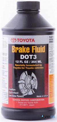 "0882380010 Toyota ""Brake Fluid"" 0,354л. Рідина гальмівна DOT3"