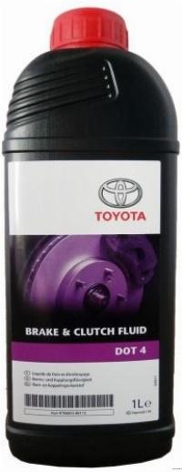 "0882380112 Toyota ""Brake & Clutch Fluid"" 1л. Рідина гальмівна DOT4"