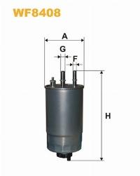 WIX Фільтр паливний WF 8408