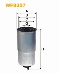 WIX Фільтр паливний WF 8327